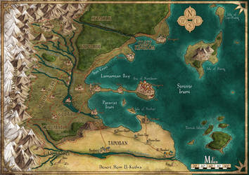 Bay Map by Sapiento