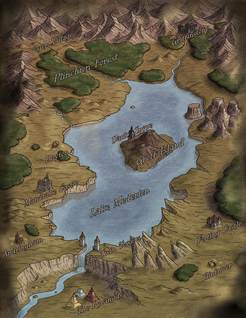 Lake Mederion by Sapiento