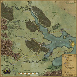 Thorian's Gate Regional Map by Sapiento