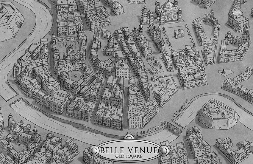 Belle Venue - Old Square by Sapiento
