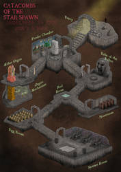 Catacombs of the Star Spawn by Sapiento