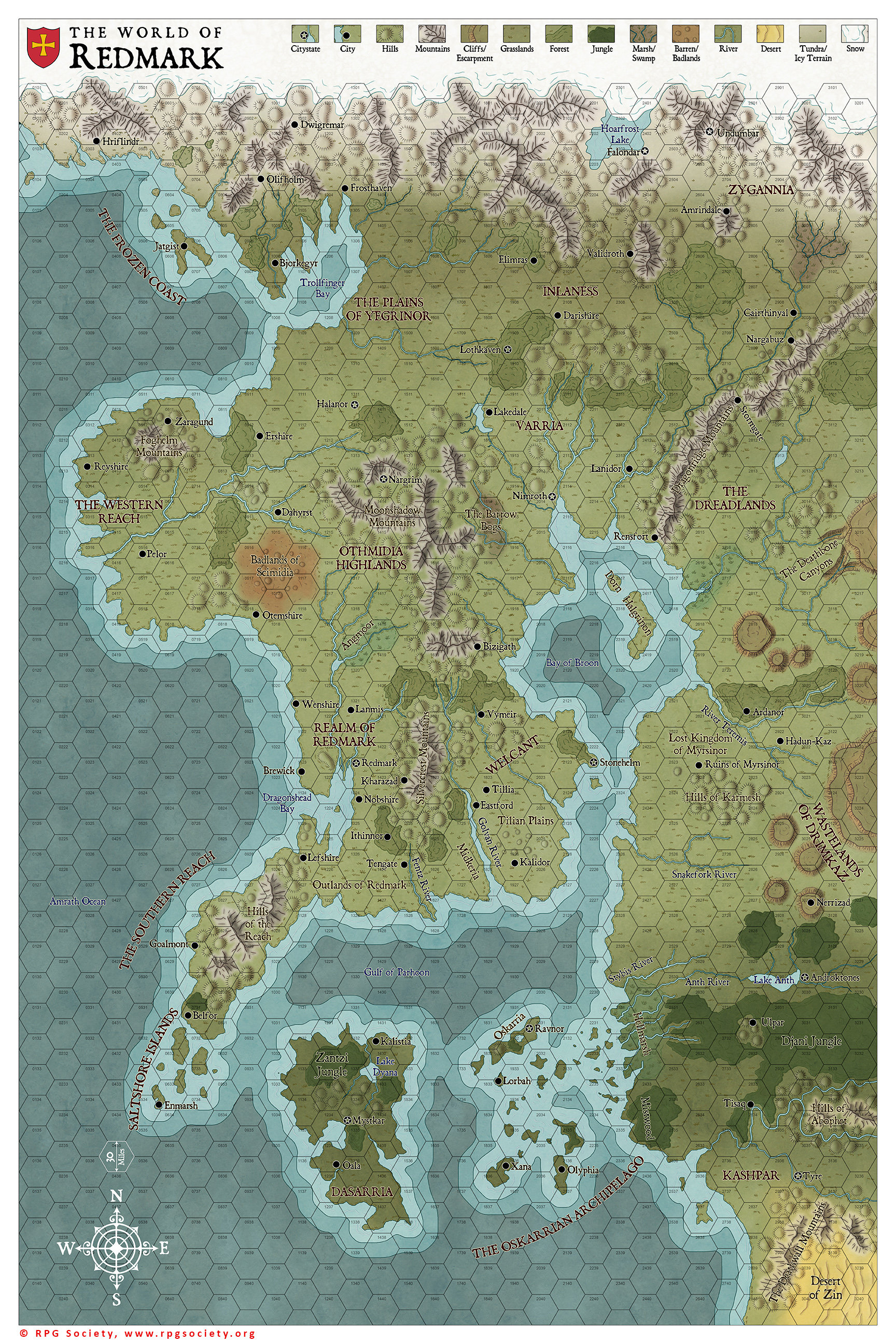 World of Redmark by Sapiento