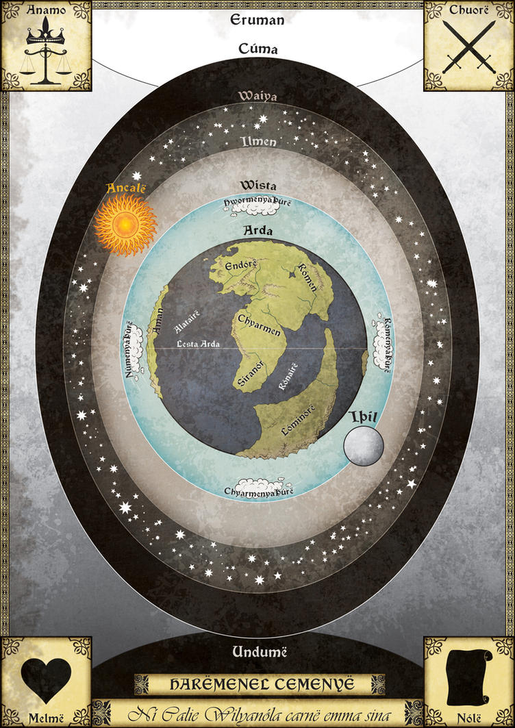 Arda Cosmos Map by Sapiento