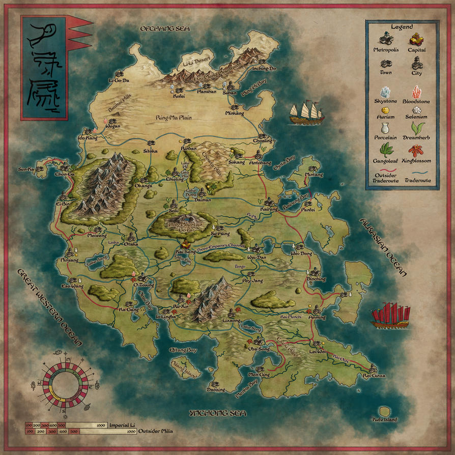 The mighty Ynchong Empire - Remake by Sapiento
