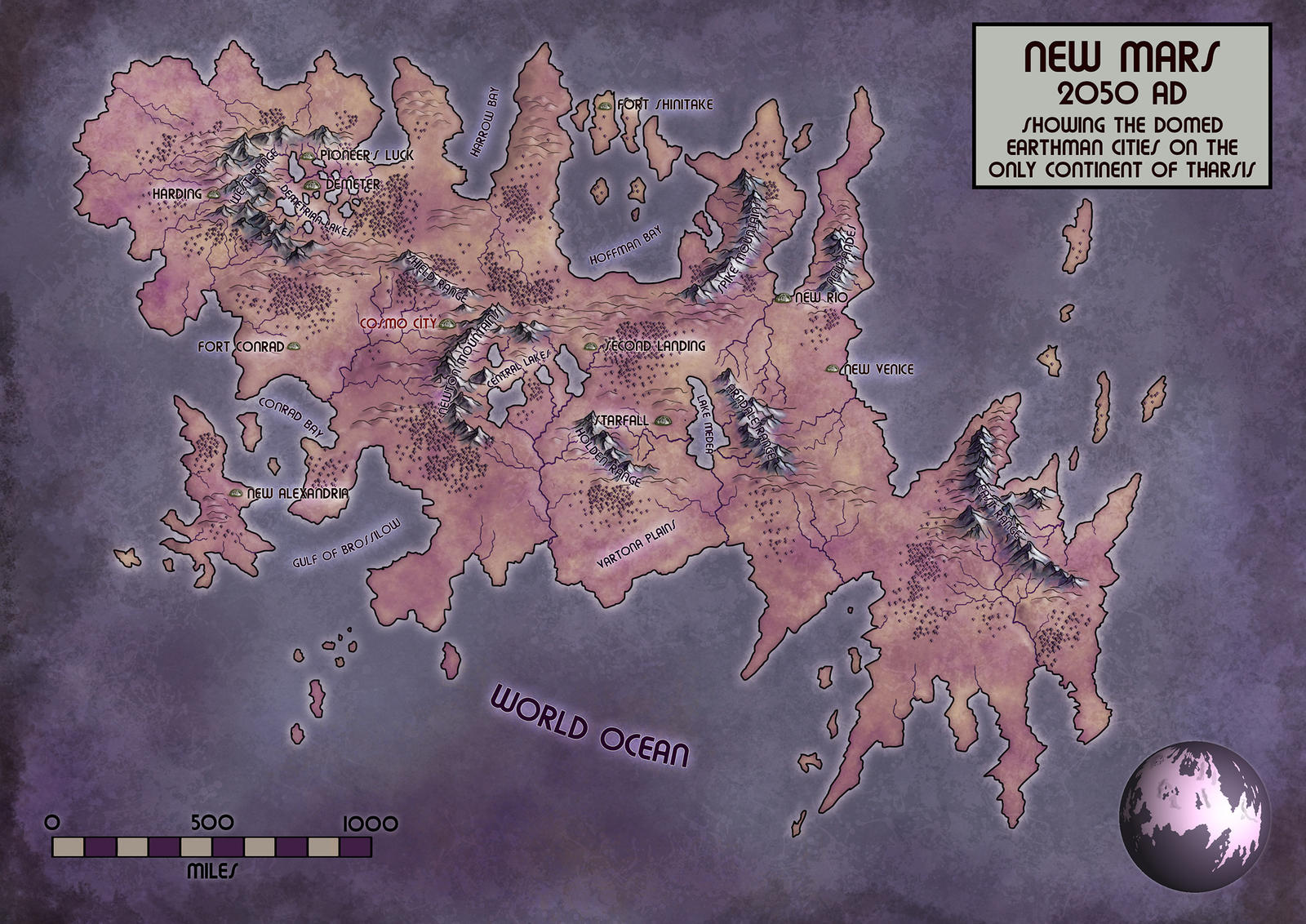 New Mars by Sapiento