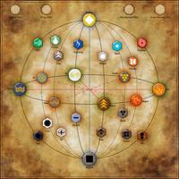 Elemental Planes by Sapiento