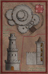 Citadell of Ravens by Sapiento