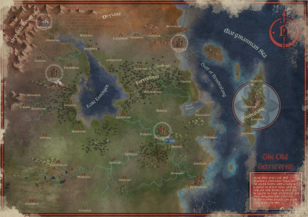 The Old Territories by Sapiento