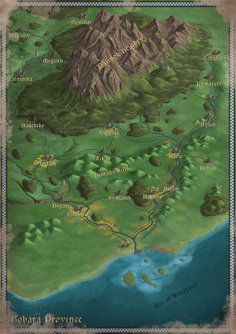 Kobara Province by Sapiento