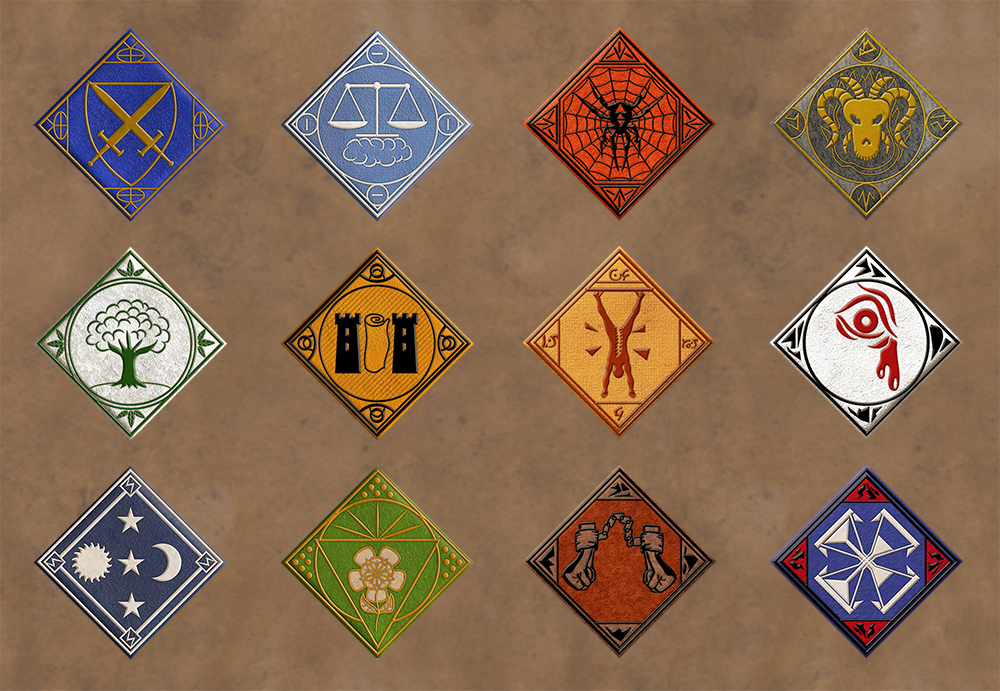 Deity Symbols by Sapiento