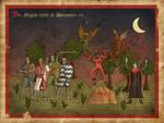 Magus Ritter und Daemonen