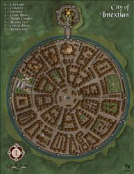 City of Intextian by Sapiento