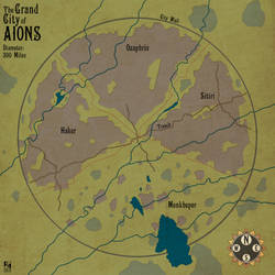 Grand City of Aions by Sapiento