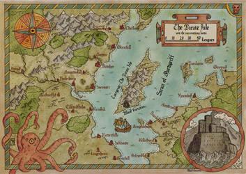 The Pirate Isle by Sapiento
