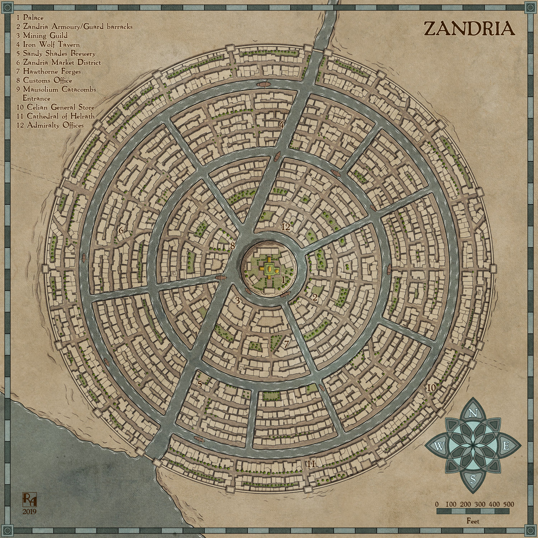 Zandria by Sapiento on DeviantArt