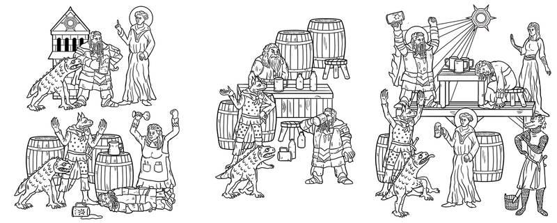Beer Mug Illustration