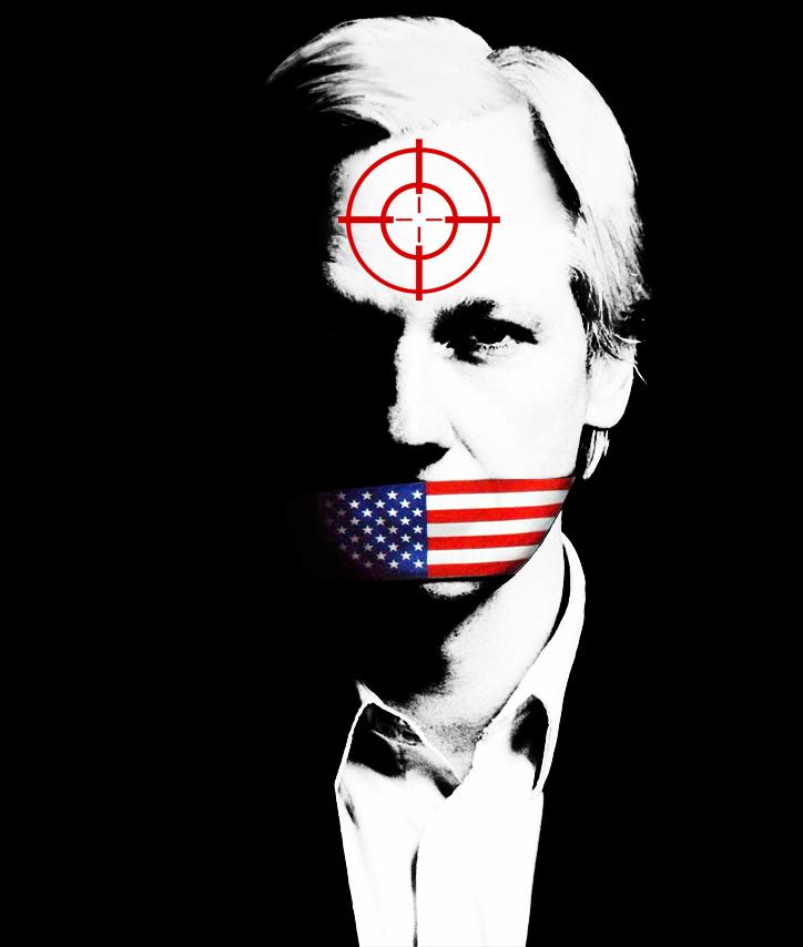 Wikileaks Headshot by dekade-z