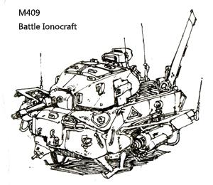 M409 Battle Ionocraft by azgcz