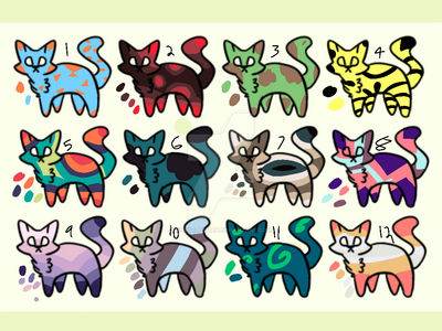 10 point adopts 12/12 open (points only)