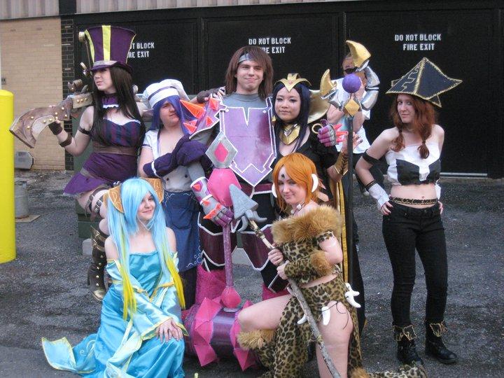 League of Legends group by Missyeru