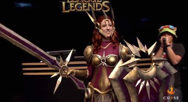 Curse.com League of Legends Leona Cosplay by Missyeru