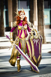 League of Legends Leona Cosplay