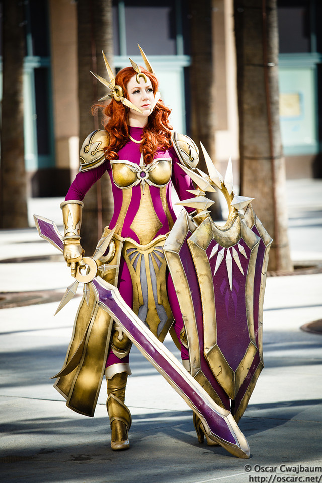 League of Legends Leona Cosplay by Missyeru