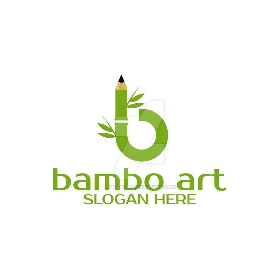 B Bamboo Art Handcraft Company Logo By Javanesia45 On Deviantart