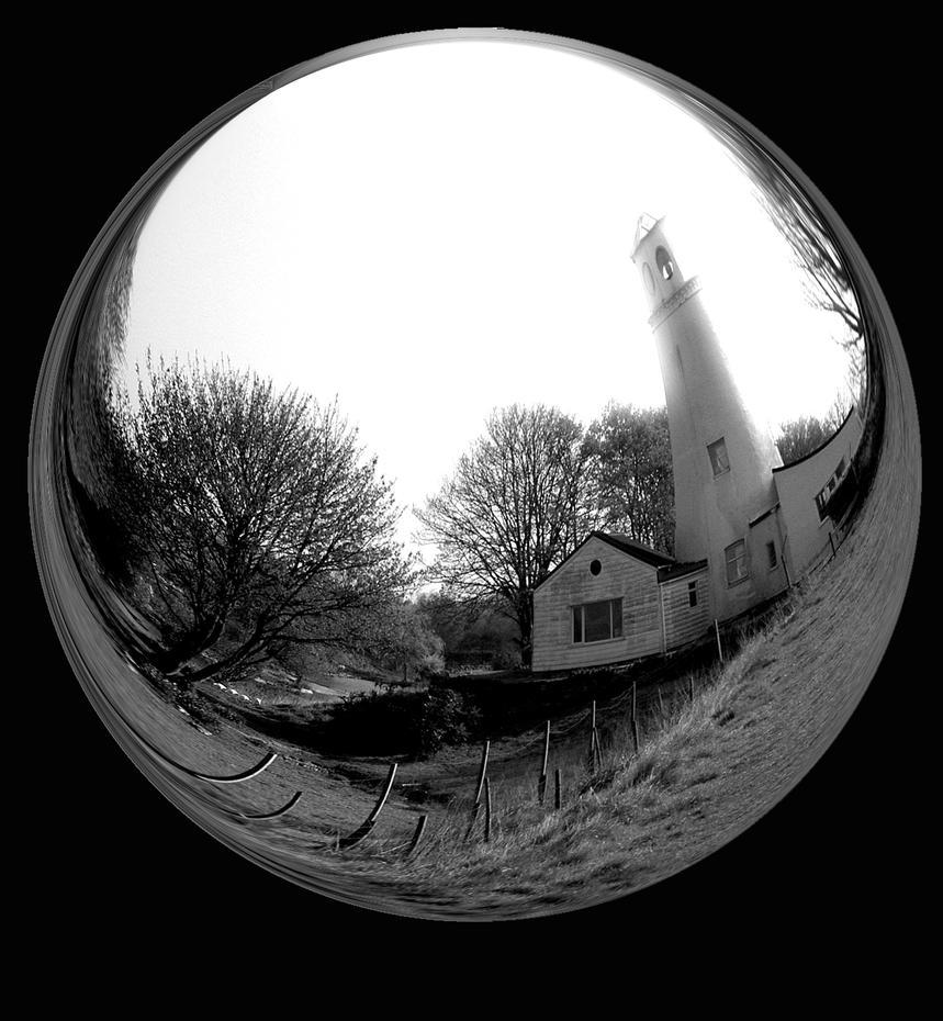 Fisheye light house by alanclimb