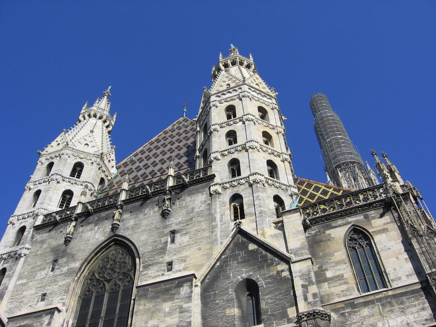 Stephansdom iii by ordre symbolique on deviantart for Architecture symbolique