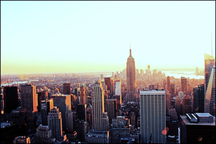 View from Rockefeller by ordre-symbolique