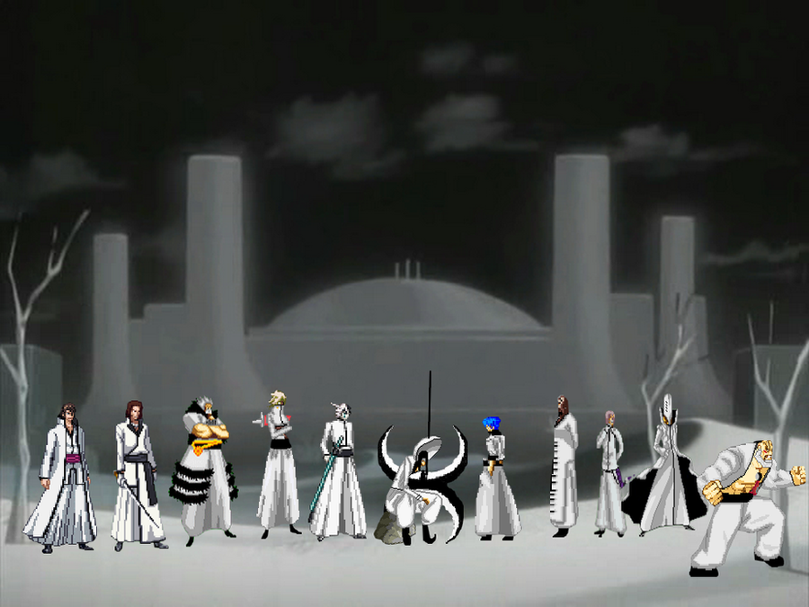 Bleach sprite espadas by kurohisagi on deviantart - Bleach espadas ...