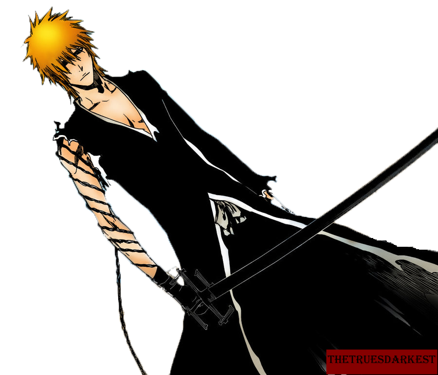 Ichigo Bankai 2 Render by darkest5 on DeviantArt