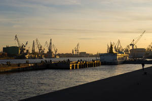 Seaport of St. Petersburg by gluk134