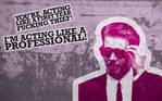 Reservoir Dogs' Mr. Pink Rendition