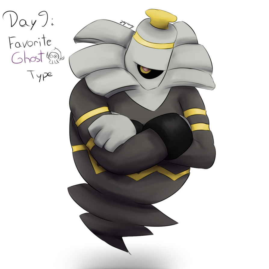 POKEDDEXY challenge - Day 9: Dusknoir by Zaprong