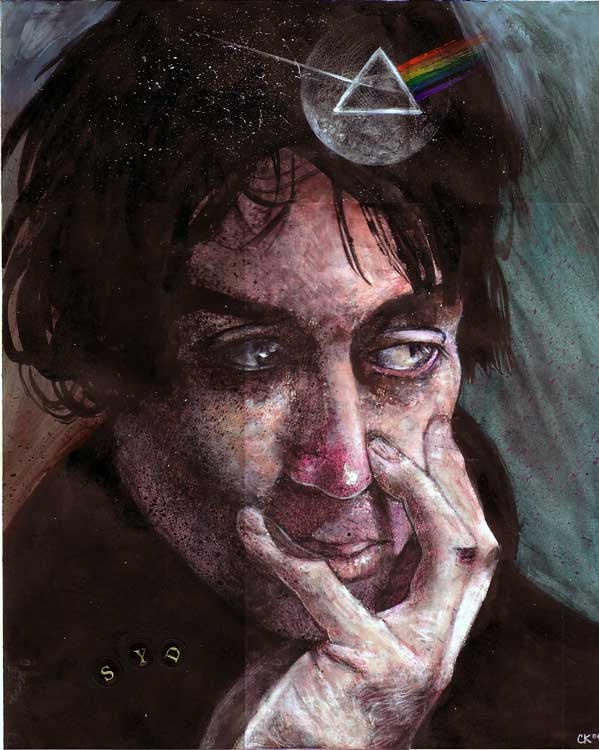Syd Barrett by artistic-engine