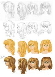 Rough Character Designs - Rilen
