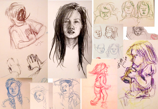 June 1 Sketches