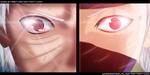 Naruto 666  Obito and Kakashi  Kamuii  (collab) by Robuste97