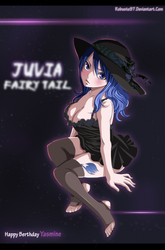 Juvia Come and Get me (Happy Berthday Yassmine ) by Robuste97
