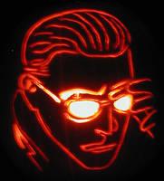 Albert Wesker Pumpkin 2008 by mediaklepto