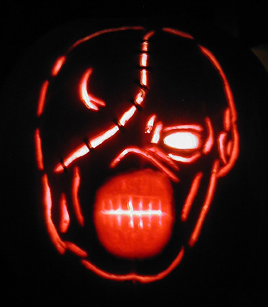 Nemesis Pumpkin 2007 by mediaklepto