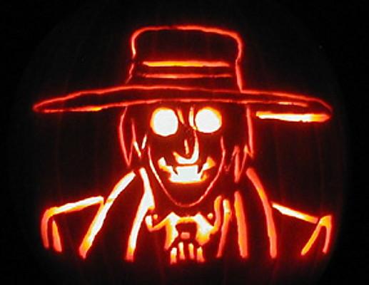 Alucard Pumpkin 2005 by mediaklepto