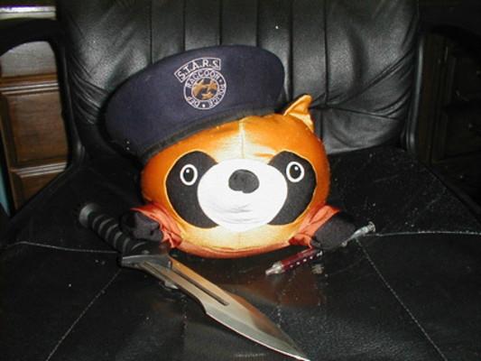 RACCOON City Police by mediaklepto