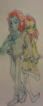 Lion-o and Lioness by Kamata12