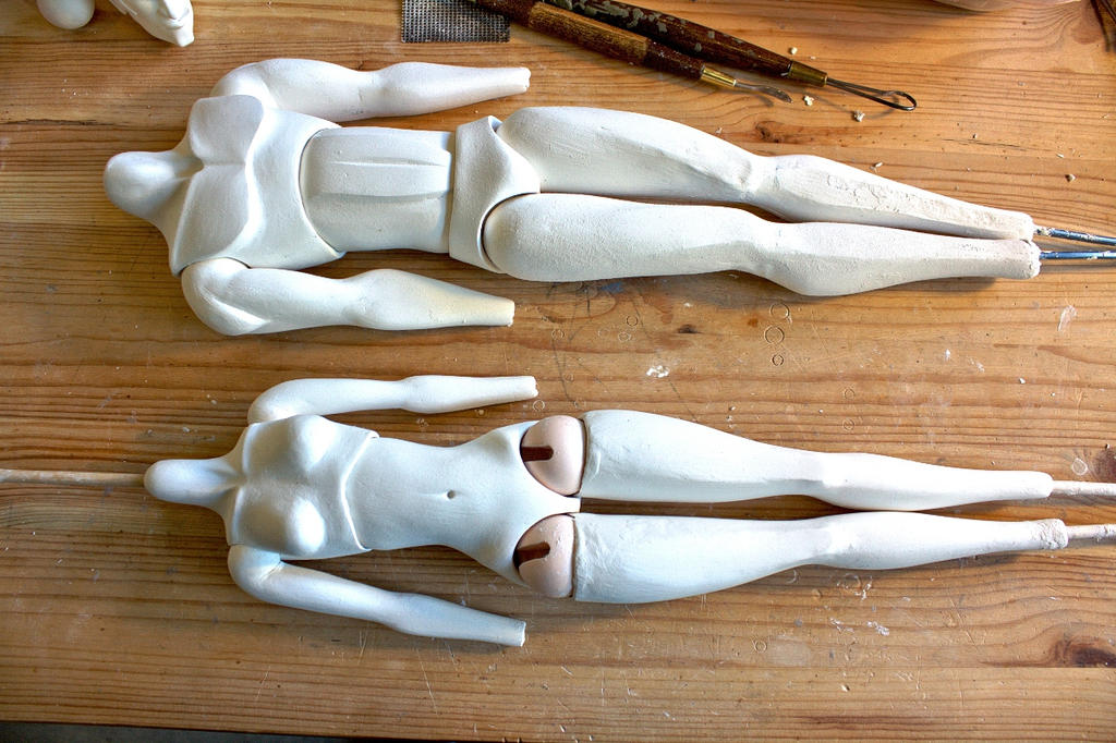 Mira and Nails bodies (work in progress) by DonnKinney