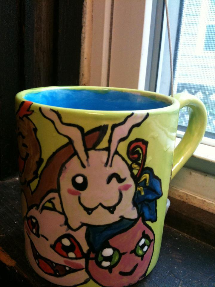 Digimon Mug 2 by pinknailpolish89