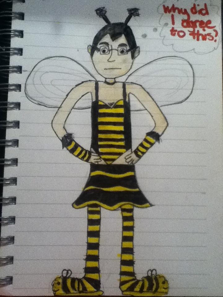 Lewis in a Bee Costume Fan Art by skyegirl12 ...  sc 1 st  skyegirl12 - DeviantArt & Lewis in a Bee Costume Fan Art by skyegirl12 on DeviantArt
