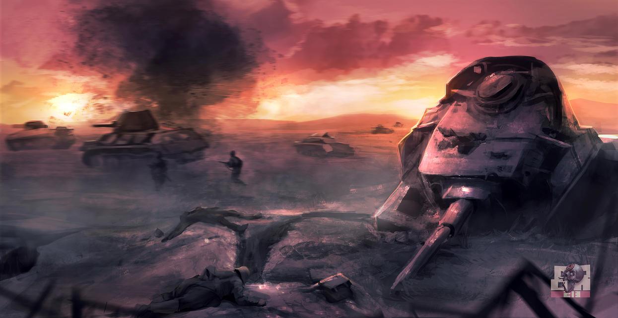El universo de la lectura Battle_of_kursk_by_breaker213-d4j2jho